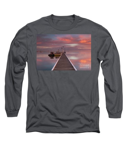 A.m. Solitude Long Sleeve T-Shirt