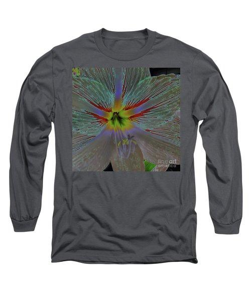 Amaryllis Colors Long Sleeve T-Shirt