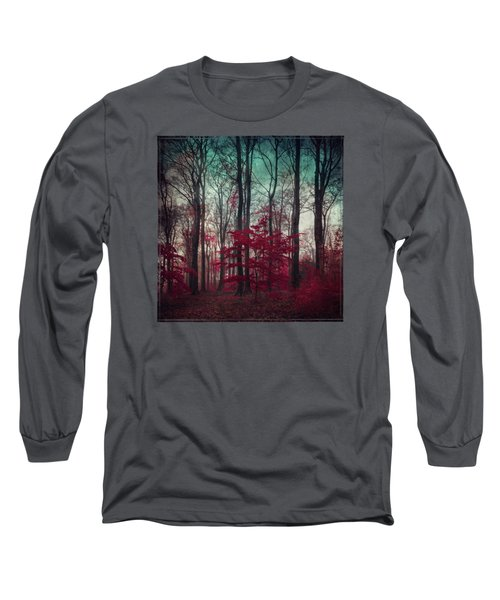 A.maze - Enchanted Red Forest Long Sleeve T-Shirt