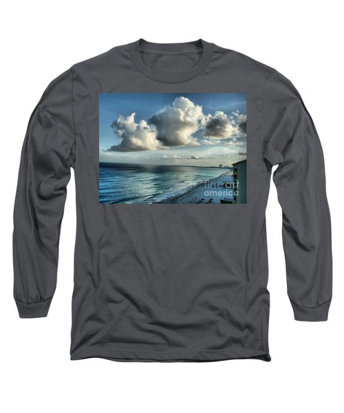 Amazing Clouds Long Sleeve T-Shirt by Polly Peacock