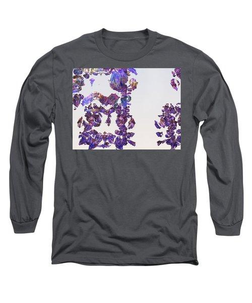 Amazing Delicate Fractal Pattern Long Sleeve T-Shirt