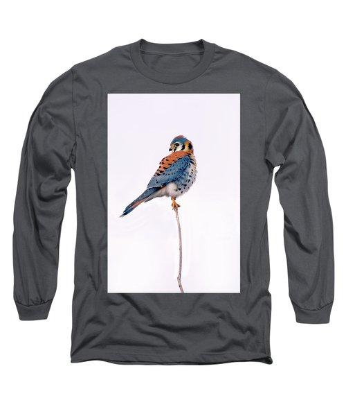 Amercian Kestrel Long Sleeve T-Shirt