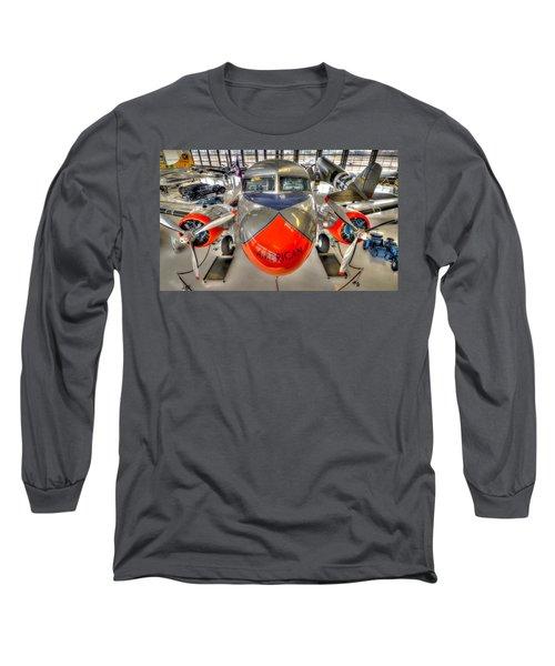 American 3 Long Sleeve T-Shirt