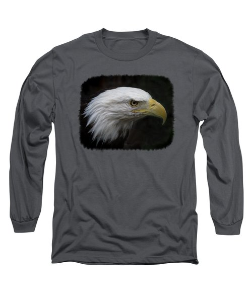 Long Sleeve T-Shirt featuring the photograph American Bald Eagle by Ernie Echols