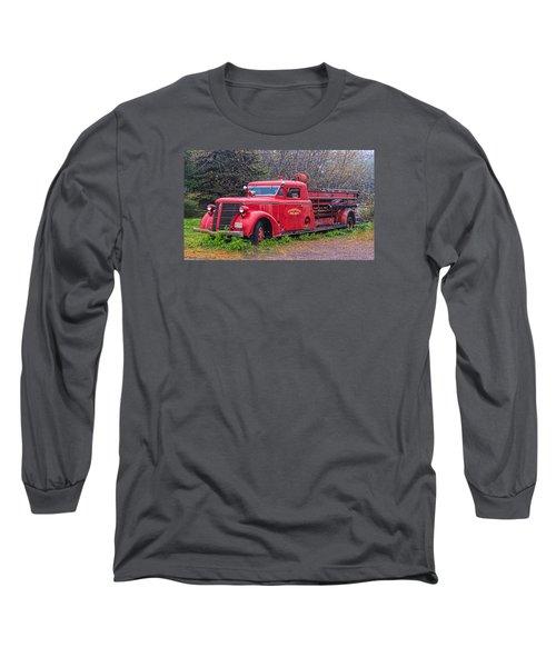American Foamite Firetruck2 Long Sleeve T-Shirt