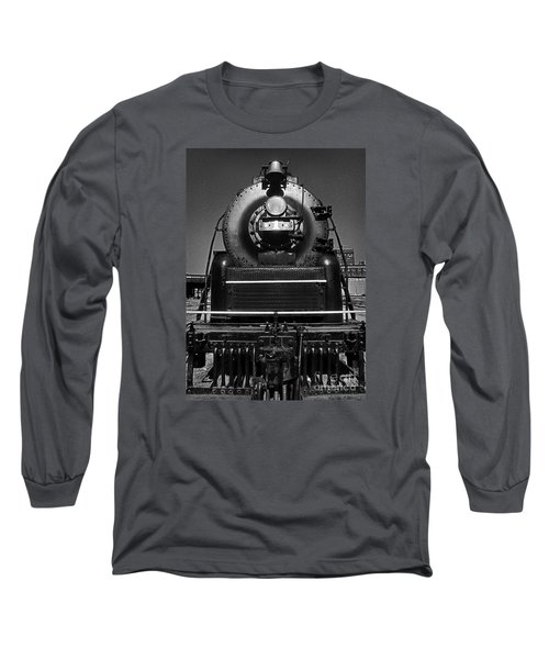 Long Sleeve T-Shirt featuring the photograph American Freedom Train #1 by Martin Konopacki
