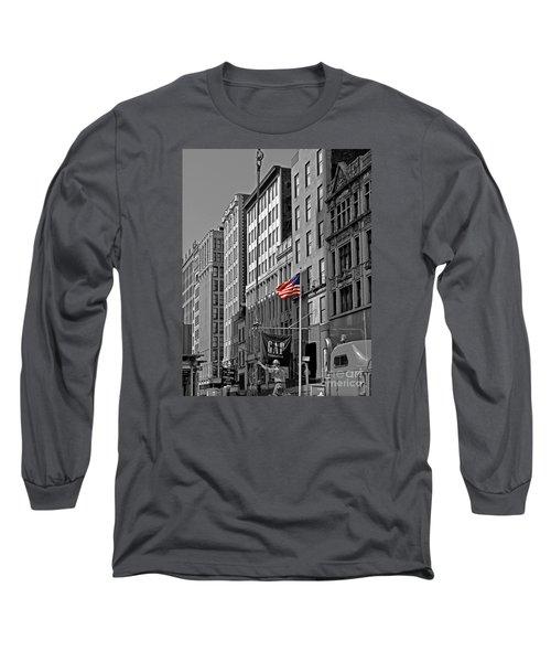 American Iron Worker Long Sleeve T-Shirt