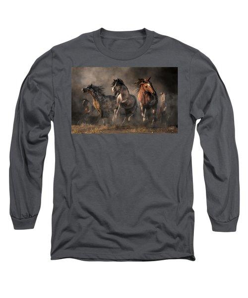 American Paint Horses Long Sleeve T-Shirt