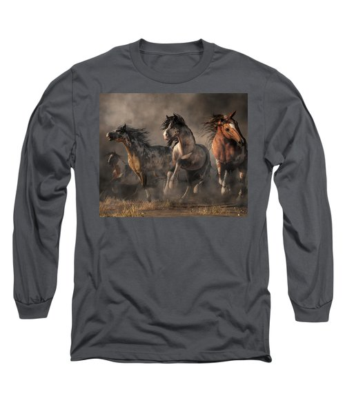 American Paint Horses Long Sleeve T-Shirt