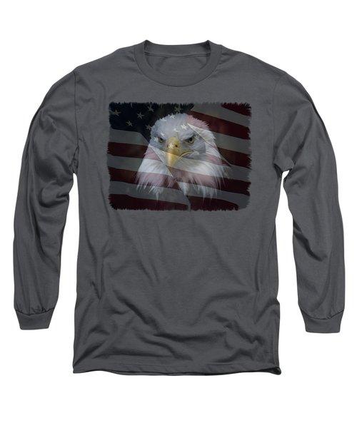 American Pride 2 Long Sleeve T-Shirt by Ernie Echols