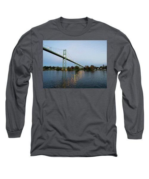 American Span Thousand Islands Bridge Long Sleeve T-Shirt