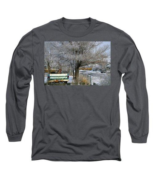 Americana And Hoarfrost Long Sleeve T-Shirt