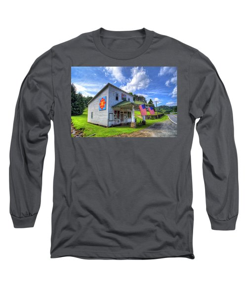 Americana Long Sleeve T-Shirt by Dale R Carlson