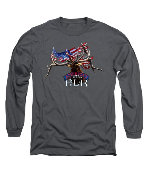 America's Legend Elk Long Sleeve T-Shirt