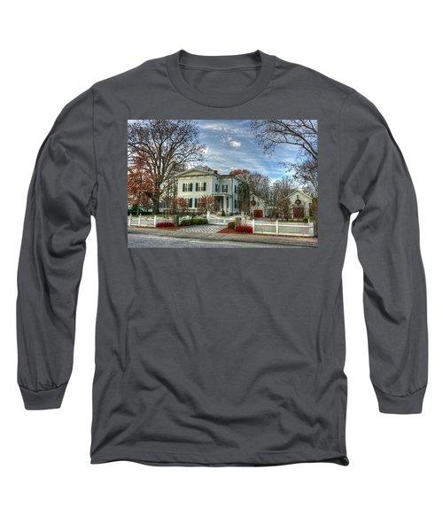 Amos Tuck House In Late Autumn Long Sleeve T-Shirt