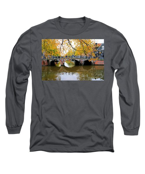 Amsterdam Canal Reflections Long Sleeve T-Shirt