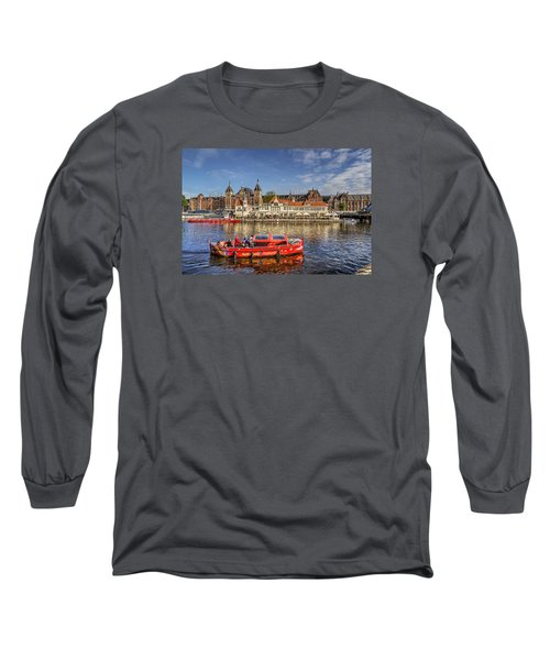 Amsterdam Waterfront Long Sleeve T-Shirt