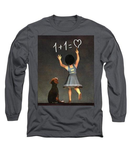 Amy Educating Buddy Math Long Sleeve T-Shirt