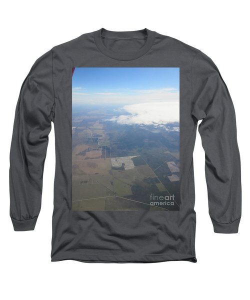 An Aerial View Of Colombus Long Sleeve T-Shirt