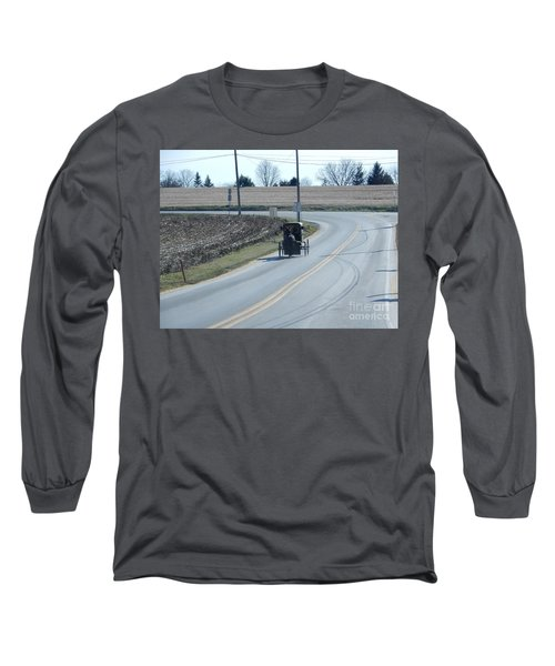 An Afternoon Buggy Ride Long Sleeve T-Shirt
