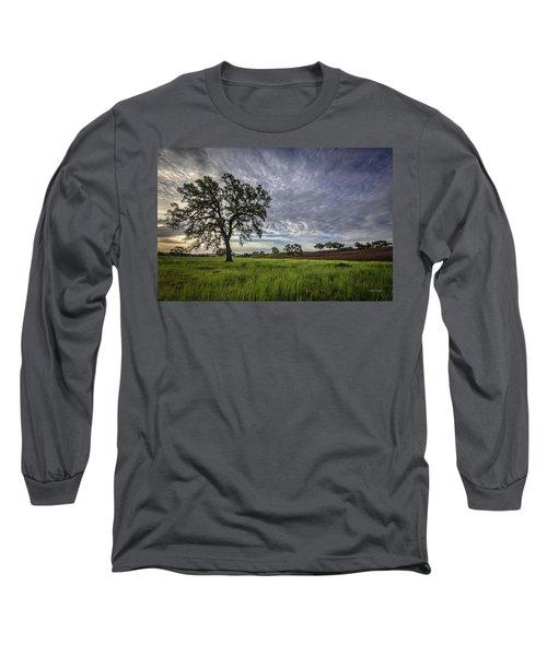 An April Sunday Morning Long Sleeve T-Shirt
