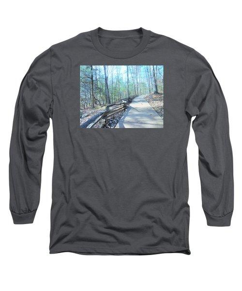 An Autumn Walk In The Woods Long Sleeve T-Shirt