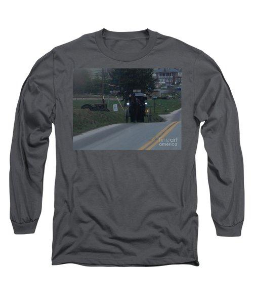 An Evening Commute Long Sleeve T-Shirt