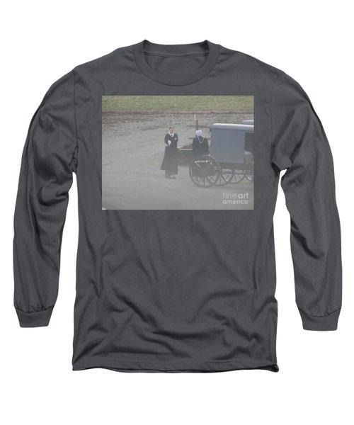 An Evening Goodbye Long Sleeve T-Shirt