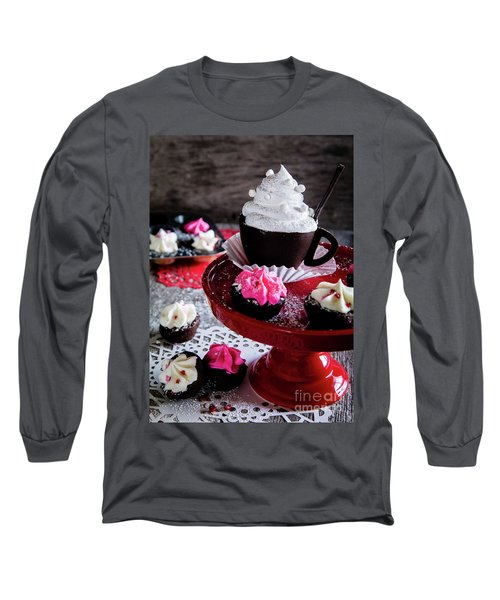 An Evening Out Long Sleeve T-Shirt by Deborah Klubertanz