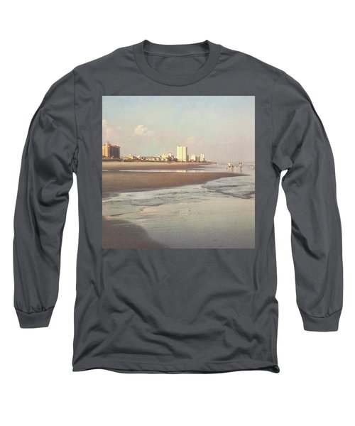 An Evening Walking The Grand Strand Long Sleeve T-Shirt