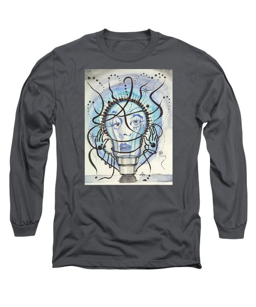 An Idea Long Sleeve T-Shirt by Darren Cannell