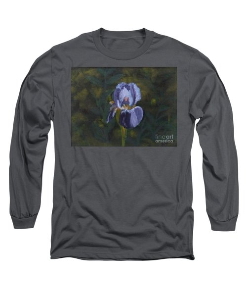 An Iris In My Garden Long Sleeve T-Shirt