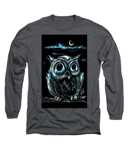 An Owl Friend Long Sleeve T-Shirt