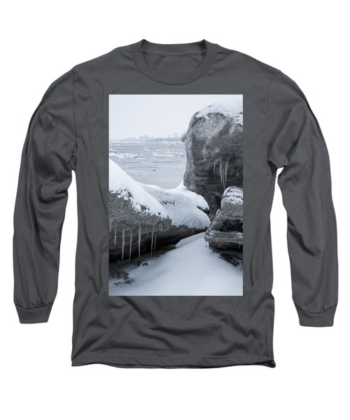 Anchorage In The Icebergs Long Sleeve T-Shirt