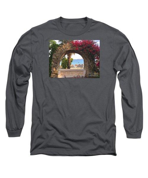 Ancient Arch Gaeta Italy Long Sleeve T-Shirt