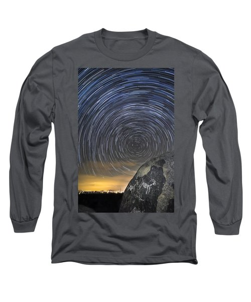Ancient Art - Counting Sheep Long Sleeve T-Shirt