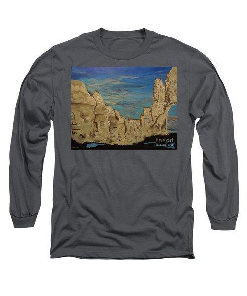 Ancient Clouds Long Sleeve T-Shirt by Stuart Engel