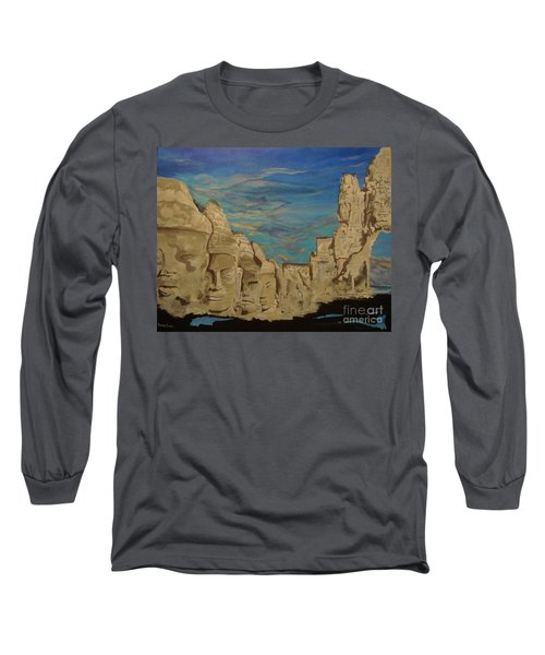 Ancient Clouds Long Sleeve T-Shirt