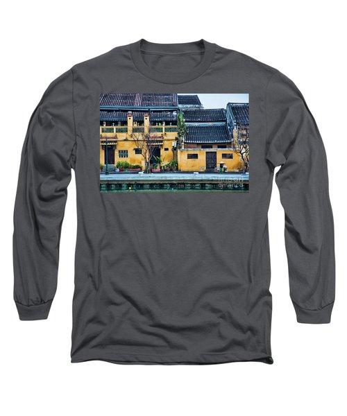 Ancient Town Hoi An Long Sleeve T-Shirt by Chuck Kuhn