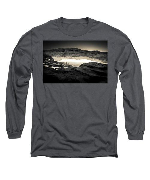 Ancient View Long Sleeve T-Shirt by Kristal Kraft