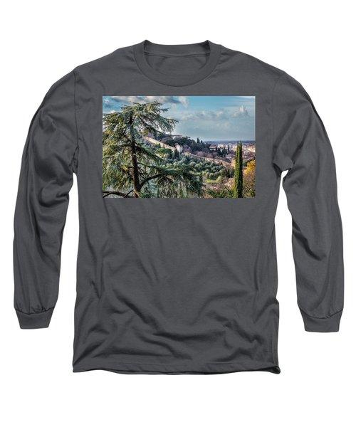 Ancient Walls Of Florence Long Sleeve T-Shirt