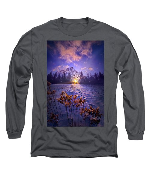 Long Sleeve T-Shirt featuring the photograph And Back Again by Phil Koch