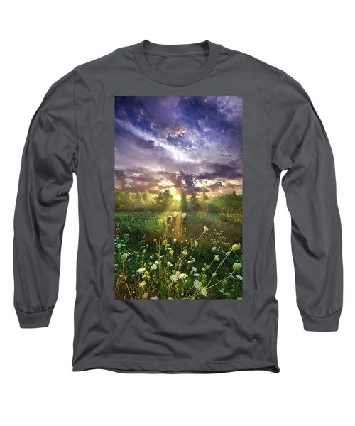 And In The Naked Light I Saw Long Sleeve T-Shirt