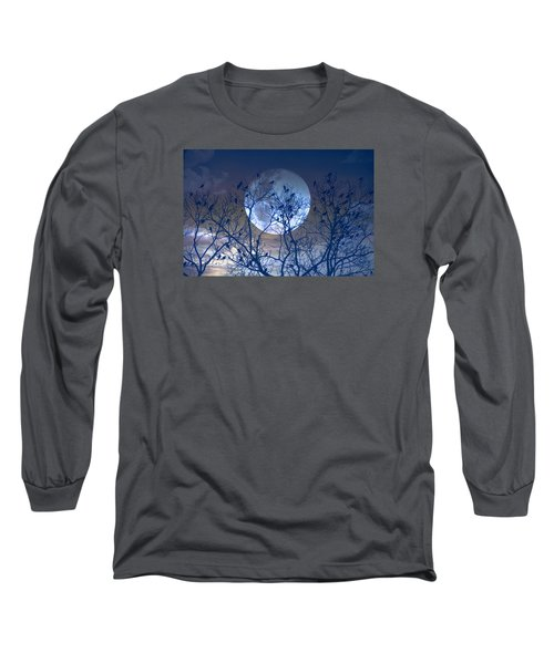 And Now Its Time To Say Goodnight Long Sleeve T-Shirt by John Rivera