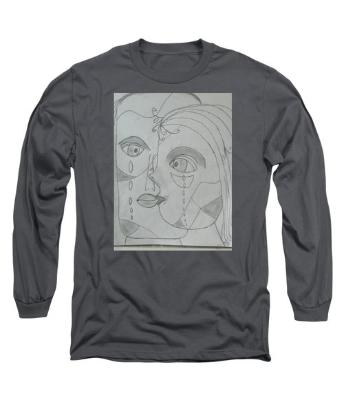 And Then They Parted Long Sleeve T-Shirt by Sharyn Winters