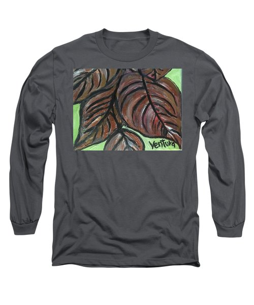 Andrea's Leaves - Fragments Of A  Dream Long Sleeve T-Shirt