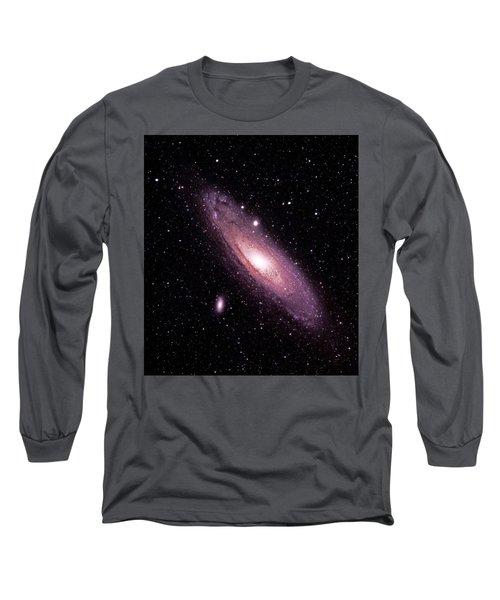 M31 Andromeda Galaxy Long Sleeve T-Shirt