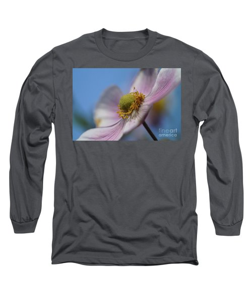 Anemone Tomentosa Close Up Long Sleeve T-Shirt
