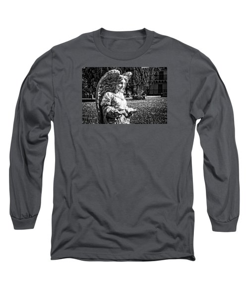 Angel 006 Long Sleeve T-Shirt by Michael White