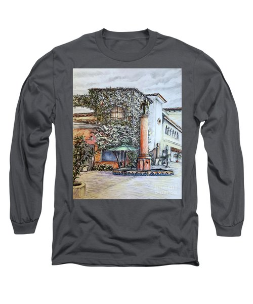 Angel At Santa Barbara Long Sleeve T-Shirt